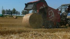 Making hay stock video