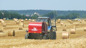 Making hay stock video footage