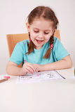 Making homework Royalty Free Stock Images
