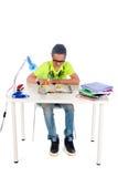 Making homework Stock Photo