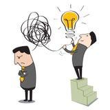 Making ideas vector illustration