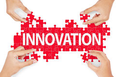 Making innovation for solution Royalty Free Stock Images