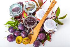 Making jams for winter Royalty Free Stock Images