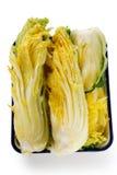 Making kimchi process Royalty Free Stock Photo