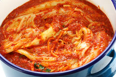 Making kimchi process Royalty Free Stock Photography