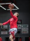 Making the Layup. Basketball action in Palo Cedro, California Stock Photos