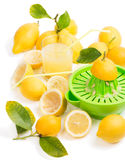 Making lemon juice Royalty Free Stock Photography