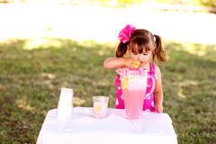 Making Lemonade Stock Photography