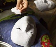 Making mask Stock Image