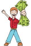 Making money vector illustration