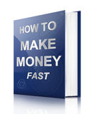 Making money concept. Royalty Free Stock Images