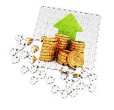 Making money concept Stock Photography