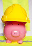 Making money in construction Stock Photo