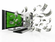 Making money off technology Stock Photos