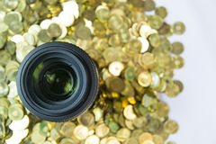 Making money from photography Royalty Free Stock Images