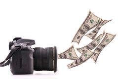 Making Money With Photography Royalty Free Stock Photo