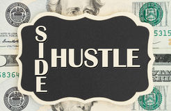 Making money with your side hustle royalty free stock images