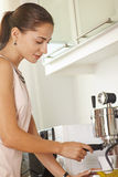 Making morning coffee Royalty Free Stock Photography