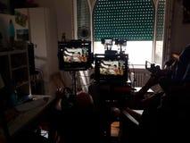 making movie Στοκ φωτογραφία με δικαίωμα ελεύθερης χρήσης