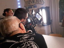making movie Στοκ Εικόνα