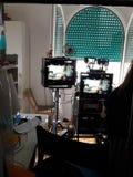making movie Στοκ Φωτογραφίες