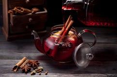making mulled wine Royalty Free Stock Photo