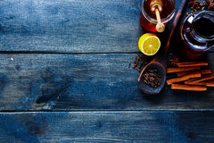 Making mulled wine Stock Images