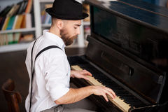 Making music. Royalty Free Stock Photography