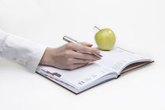 Making note Stock Photos