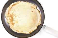 Making pancake Stock Photography