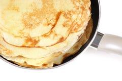 Making pancake Royalty Free Stock Photo