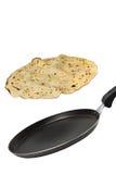 Making Pancakes Stock Photography