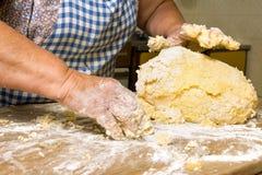 Making pasta Royalty Free Stock Image
