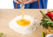 Making pasta Stock Image