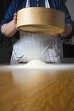 Making pasta Royalty Free Stock Images