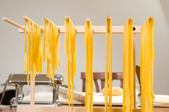 Making pasta Royalty Free Stock Images