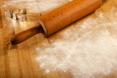 Making pastry dough for cake. Series. Stock Image