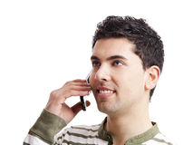 Making a phone call Stock Photography