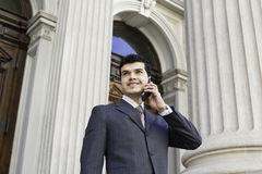 Making phone call Royalty Free Stock Photos