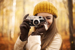 Making photo Royalty Free Stock Images