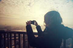 Making photos of London royalty free stock photography