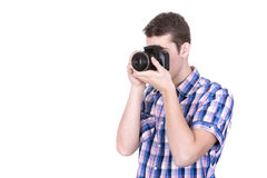 Making a picture Royalty Free Stock Images