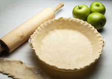 Making Pie Royalty Free Stock Photography