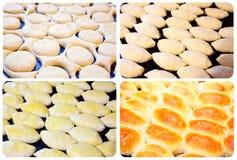Making pies Stock Photo