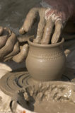 Making pottery Royalty Free Stock Photos