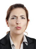 Making pout Royalty Free Stock Image