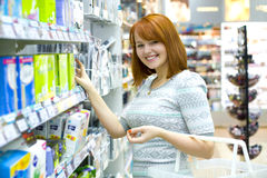 Making purchases Stock Image