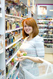 Making purchases Stock Photo