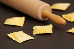 Making ravioli Stock Photography