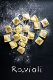 Making ravioli Royalty Free Stock Photo